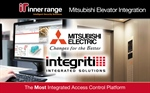 Inner Range Integrates Mitsubishi Elevators with Integriti