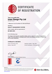Inner Range gains ISO 9001:2015 certification.